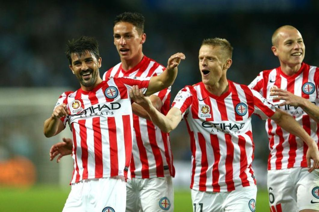 EN VIDEO : le premier but de David Villa avec Melbourne