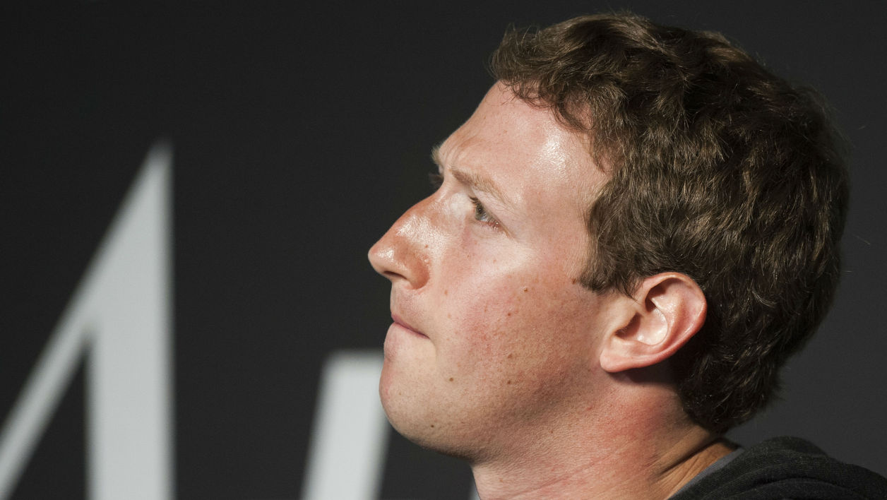 Mark Zuckerberg, le patron de Facebook.
