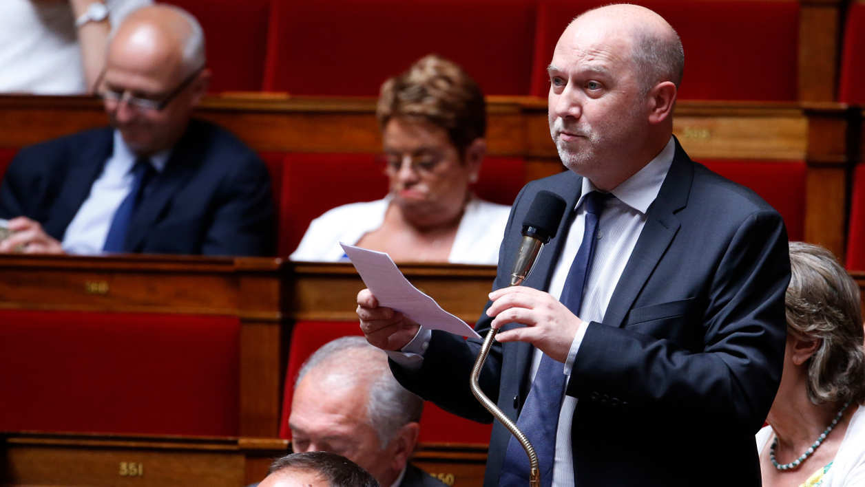 French left-wing EELV party MP and vice president of the National Assembly Denis Baupin attends a session of Questions to the government, on July 15, 2015 at the National Assembly in Paris. AFP PHOTO / THOMAS SAMSON  THOMAS SAMSON / AFP