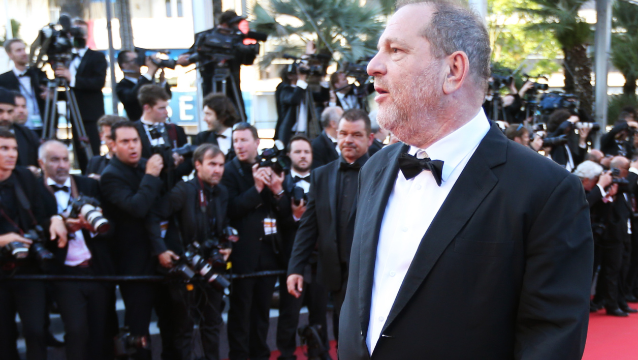 Harvey Weinstein à Cannes en mai 2015