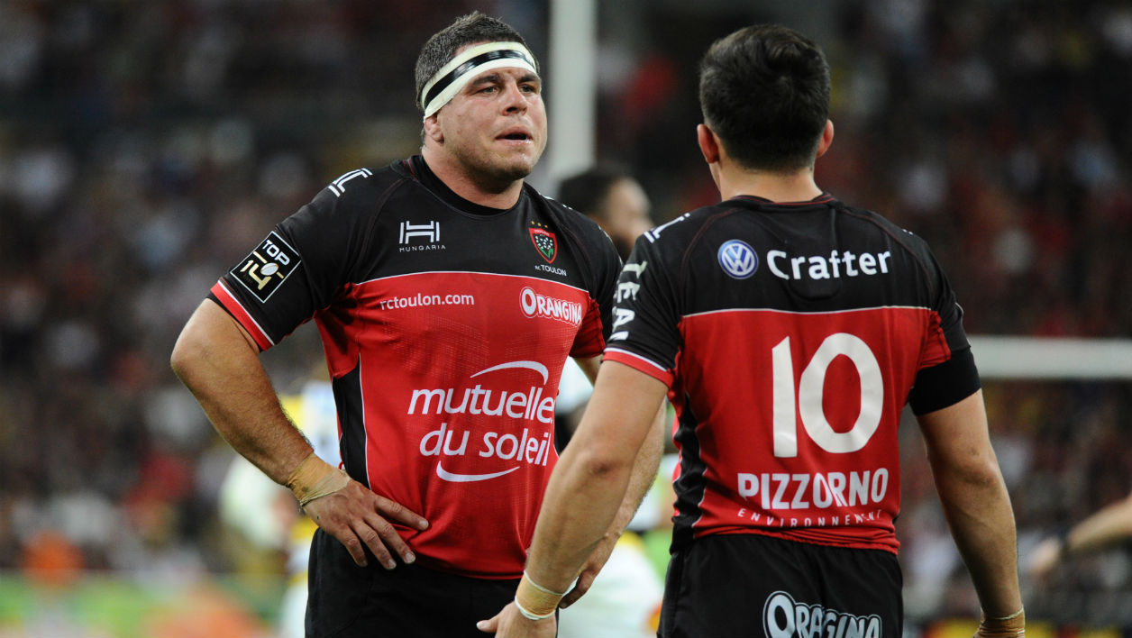 Guilhem Guirado et Anthony Belleau