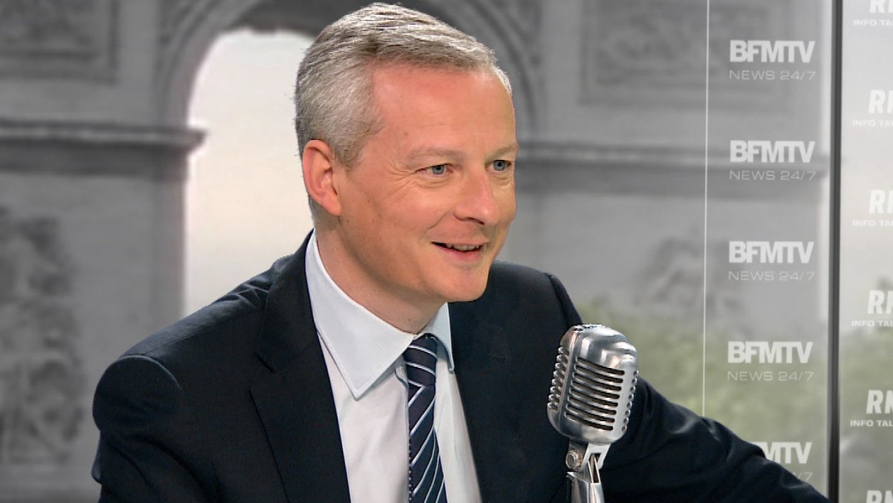 Bruno Le Maire face à Jean-Jacques Bourdin: les tweets de l'interview