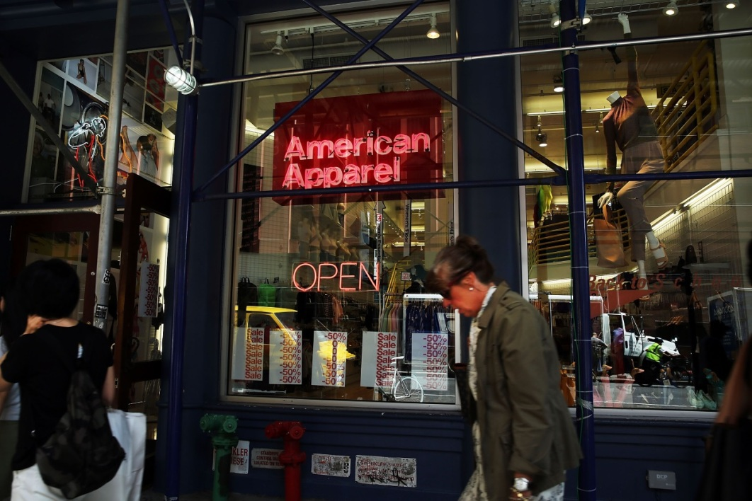 American Apparel risque la faillite.