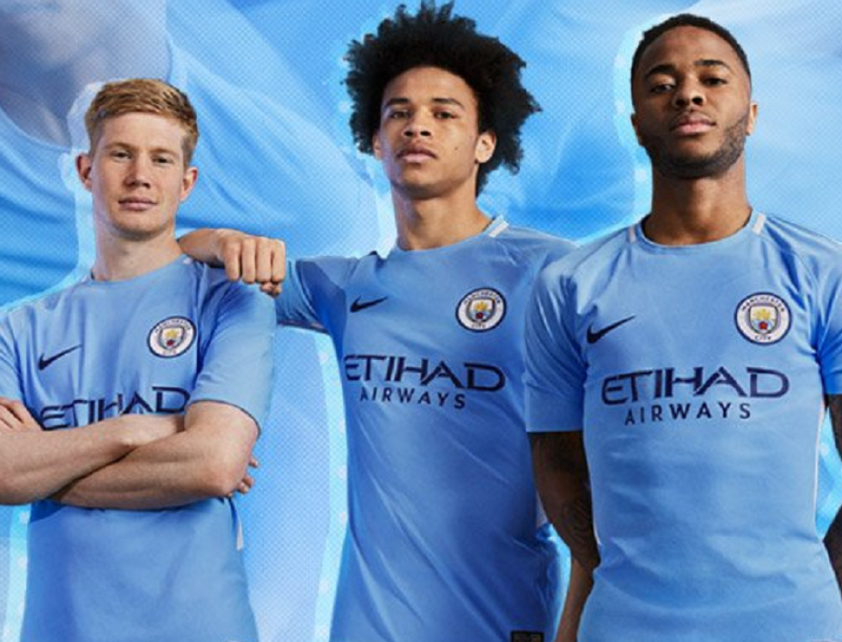 tenue de foot Manchester City nouvelle