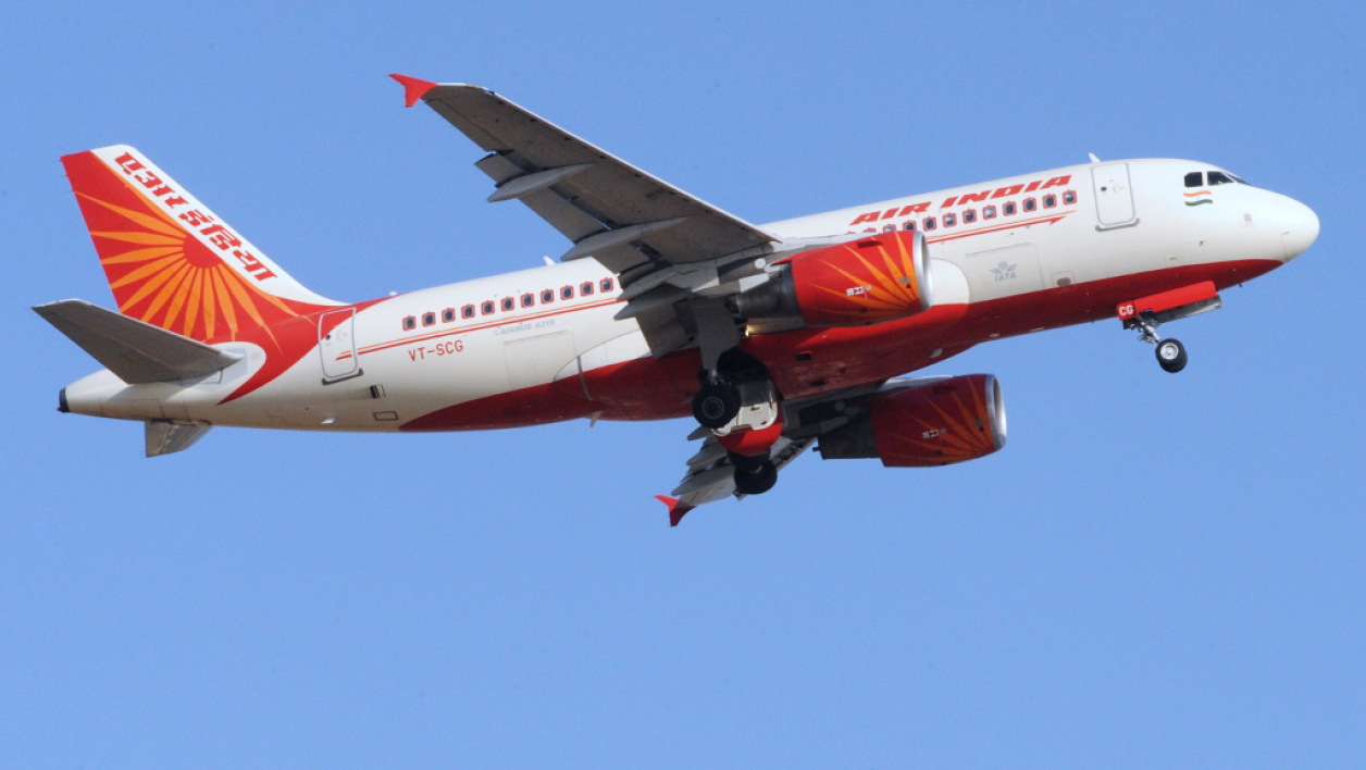 Un avion de la compagnie Air India (image d'illustration).