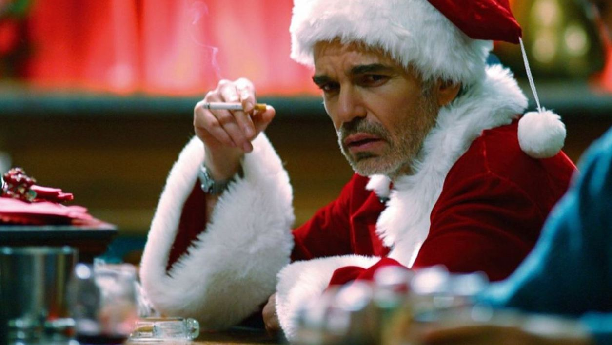 Billy Bob Thornton dans Bad Santa