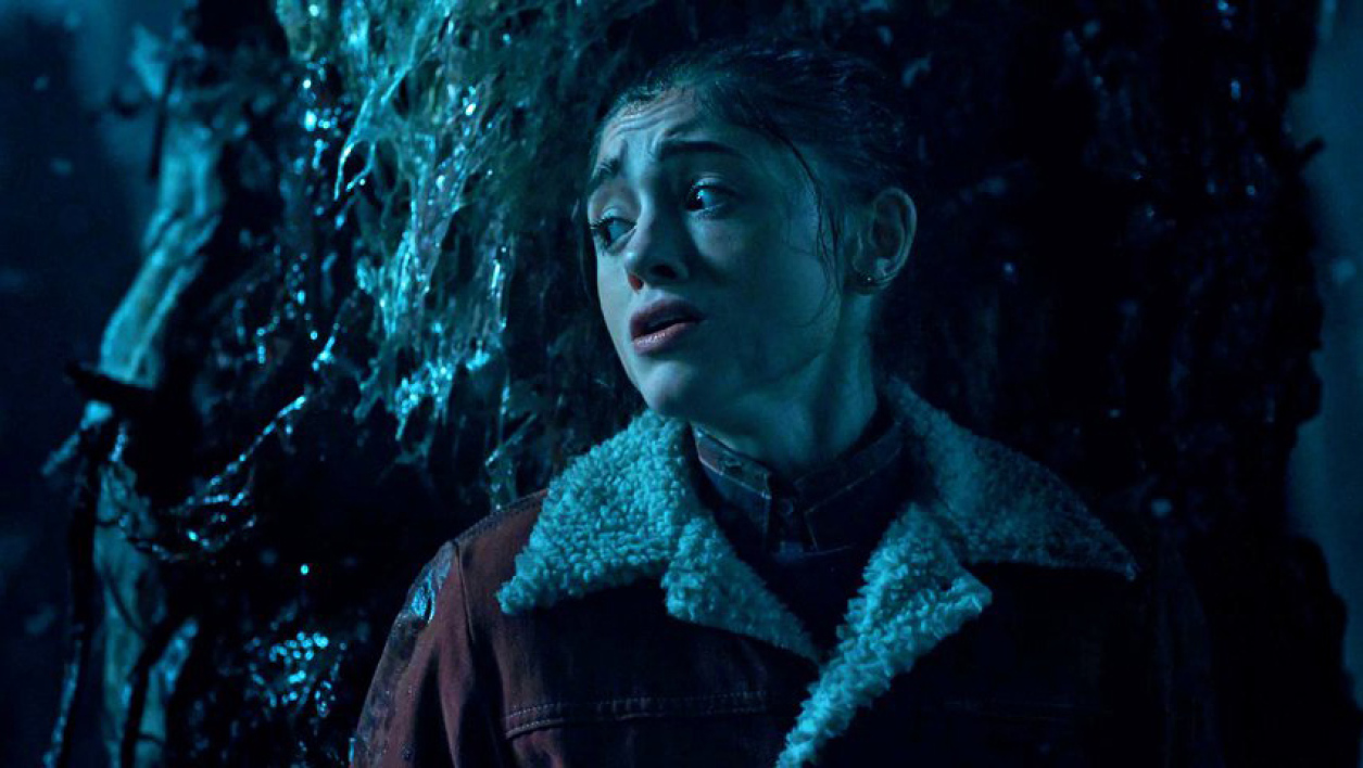 "Nancy (Natalia Dyer) dans la série ""Stranger Things""."