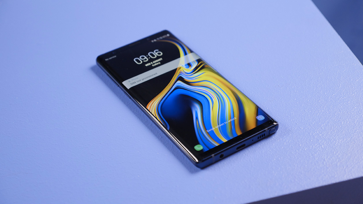 Le Samsung Galaxy Note 9