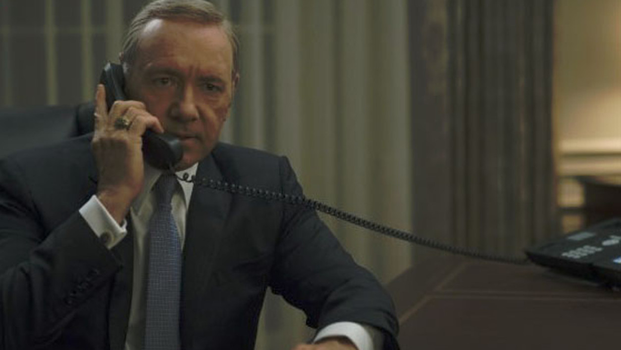 Frank Underwood, le héros d'House of Cards.