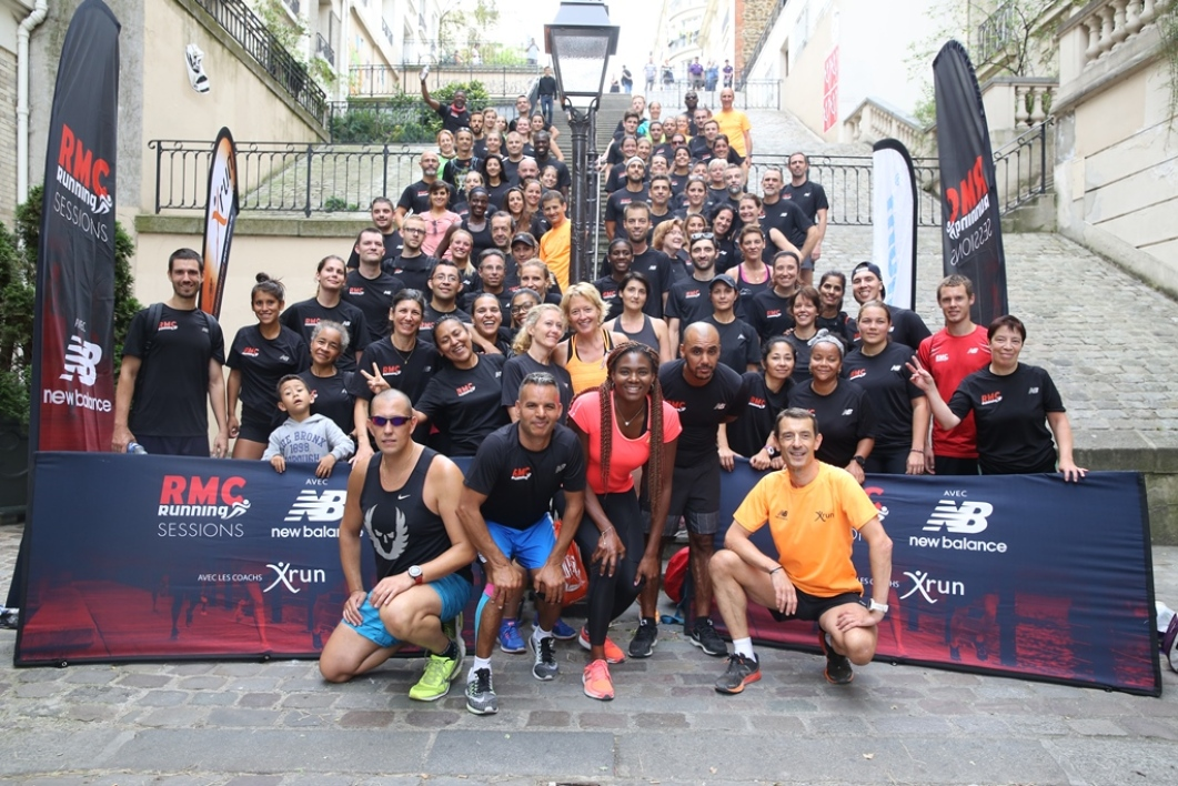 RMC Running : la 7e étape des Running Sessions à Paris