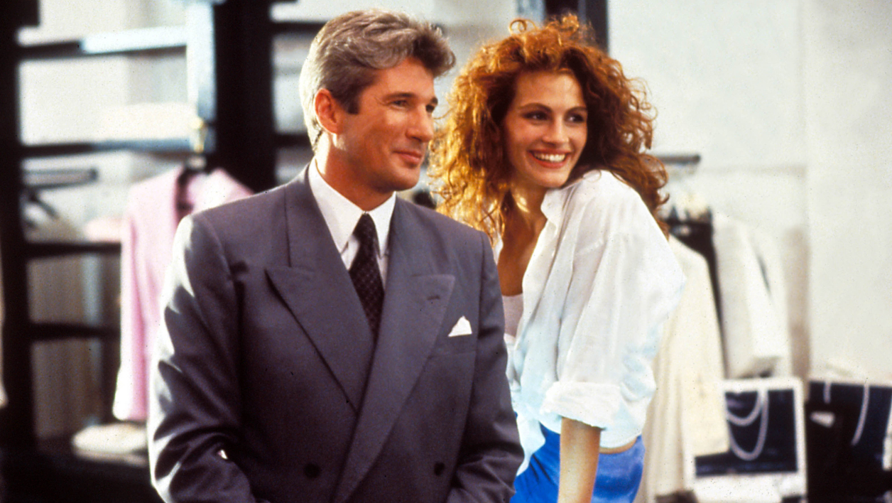 "Richard Gere et Julia Roberts dans le film ""Pretty Woman"""
