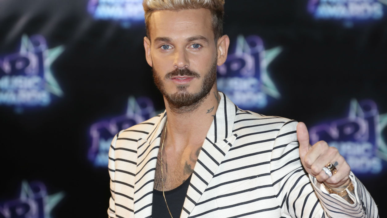 M. Pokora aux NRJ Music Awards en 2016