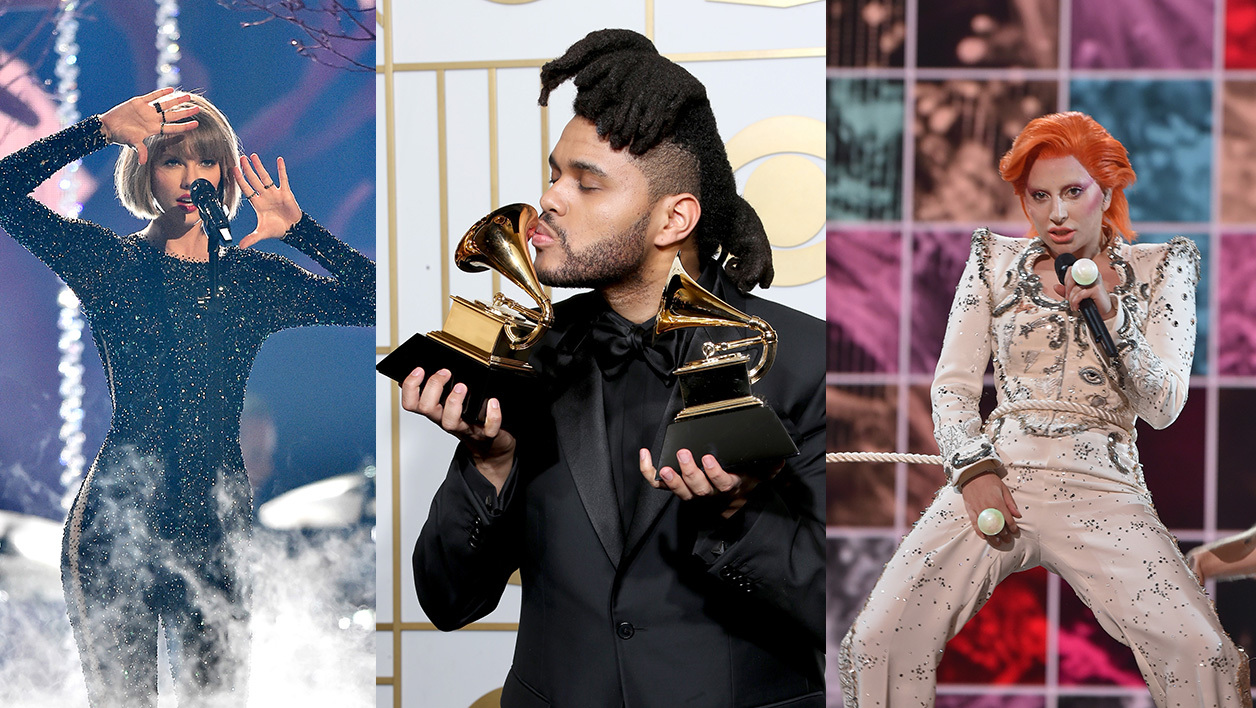 Taylor Swift / The Weeknd / Lady Gaga
