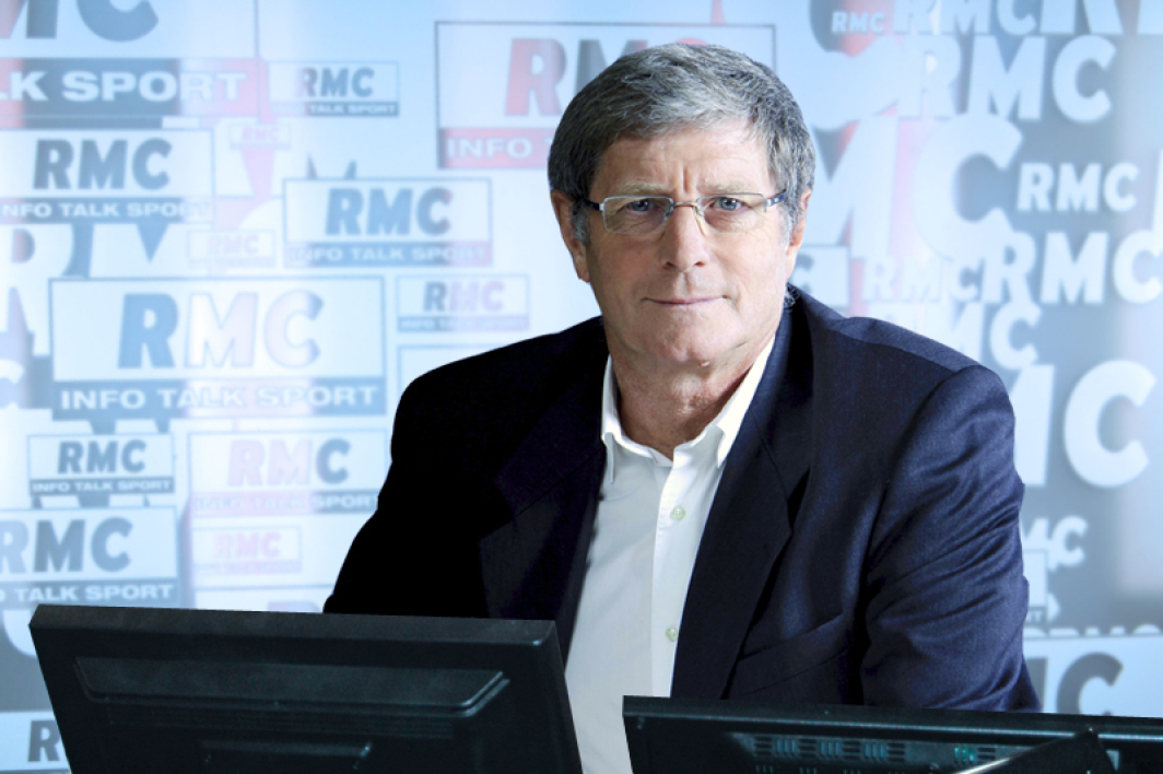 Jean-Michel Larqué, membre de la Dream Team RMC