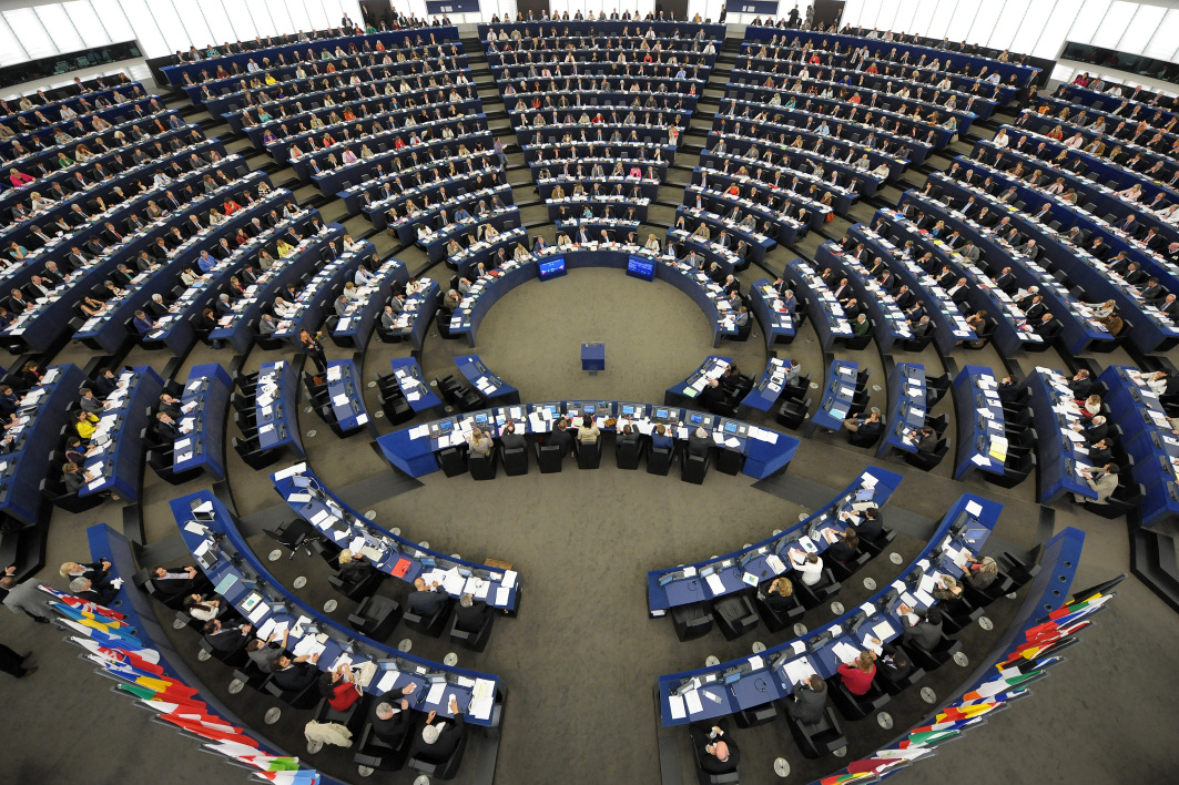 Le Parlement européen, à Strasbourg (PHOTO D'ILLUSTRATION).