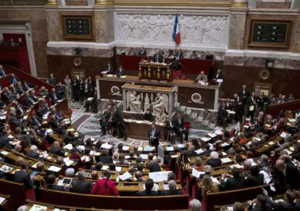 L'Assemblée nationale. (Illustration)