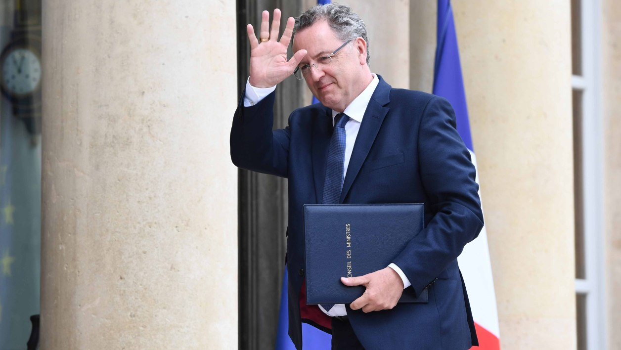 Richard Ferrand, le 18 mai 2017, à Paris.