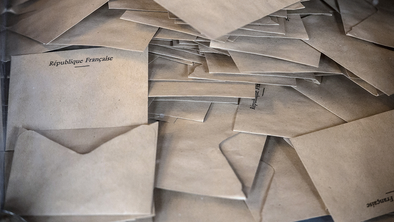 Bulletins de vote (photo d'illustration)