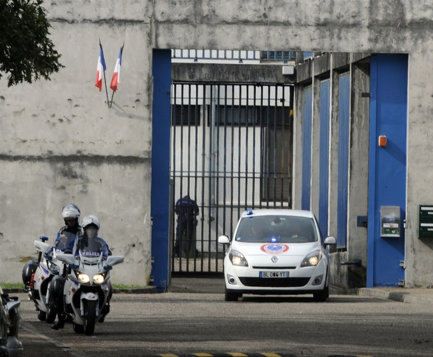 L'homme n'a pas réintégré sa cellule au centre pénitentiaire de Bordeaux-Gradignan (photo d'illustration)