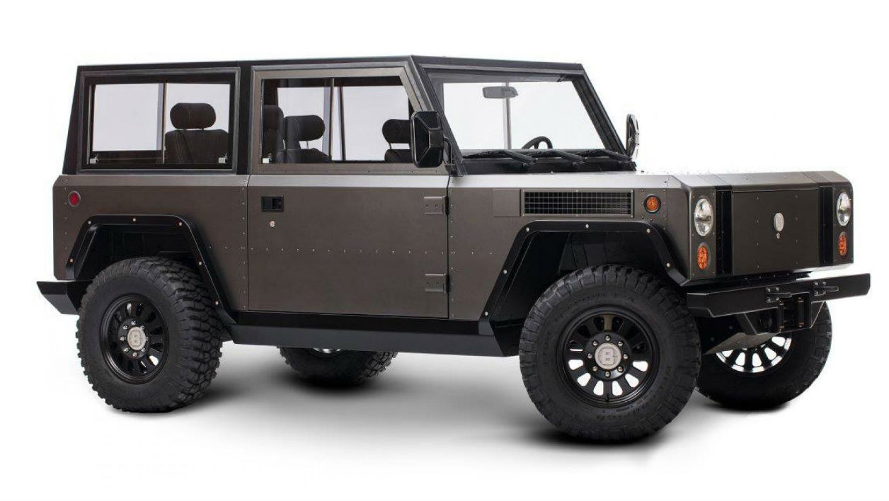 La start-up new-yorkaise Bollinger a lancé un 4x4 électrique.