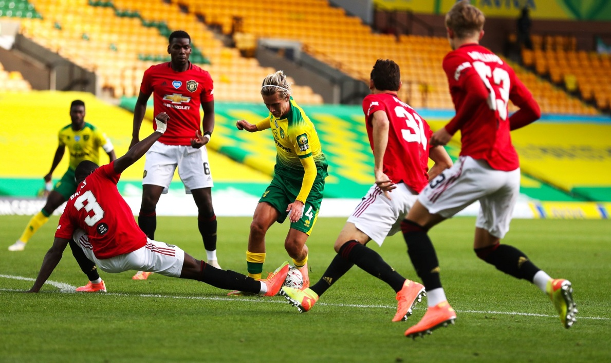 Norwich-Manchester United