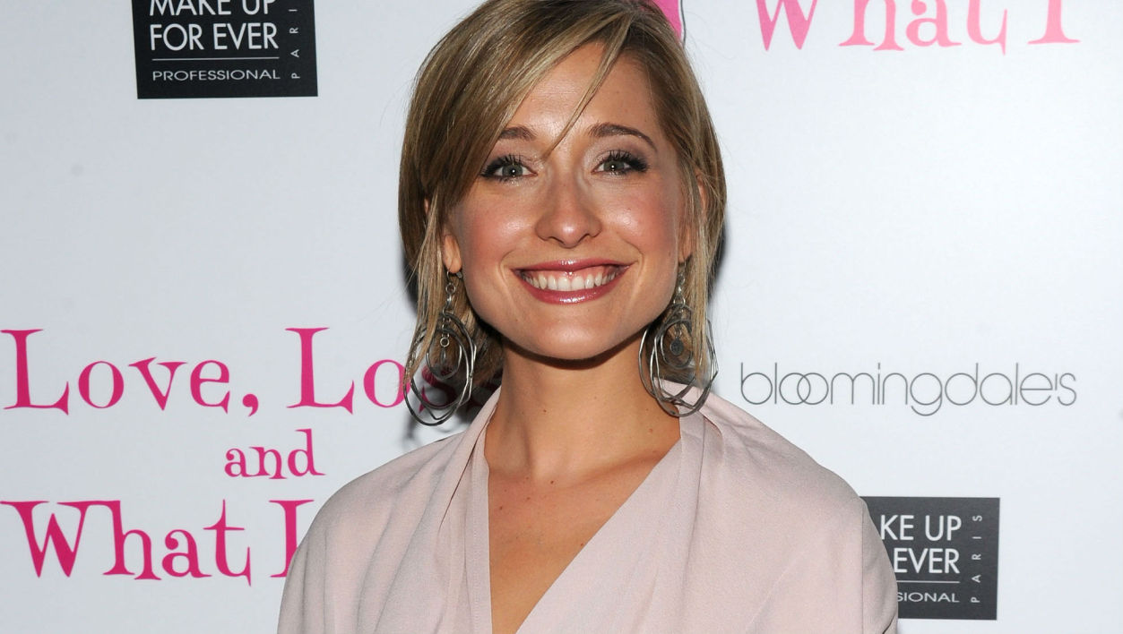 Allison Mack à New York en 2010
