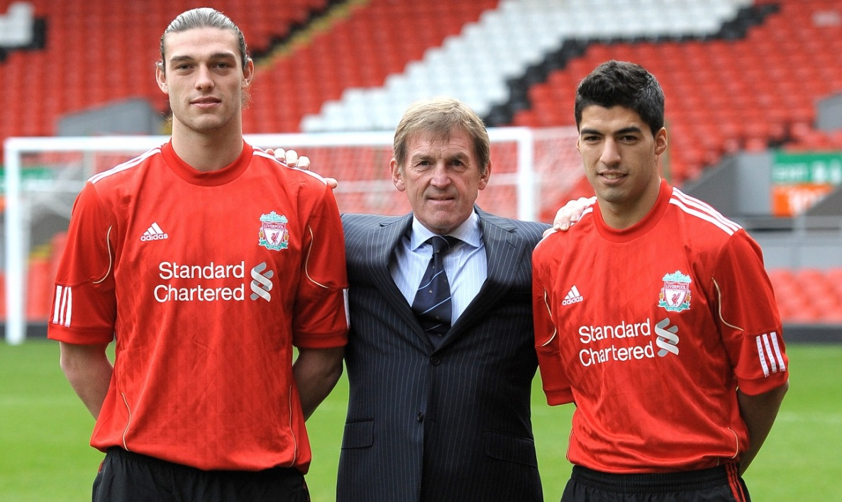 Andy Carroll à Liverpool en 2011