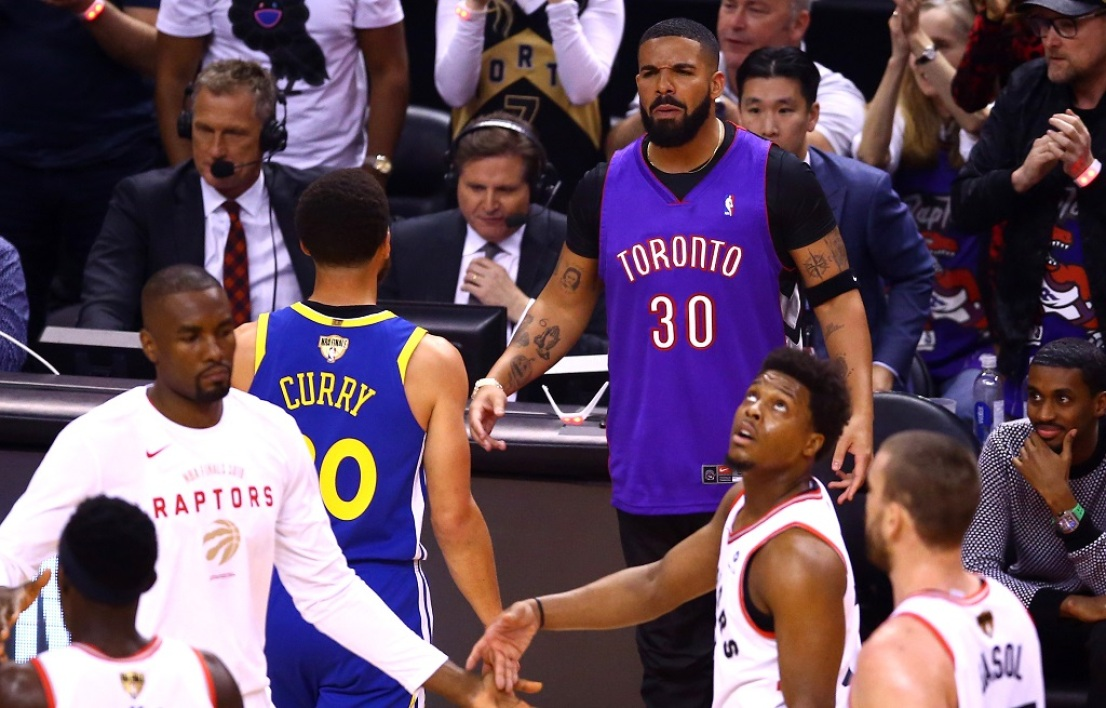 Curry et Drake