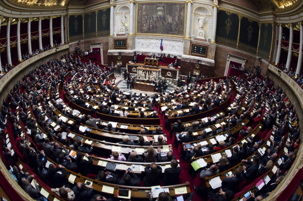 Assemblée nationale hémicycle