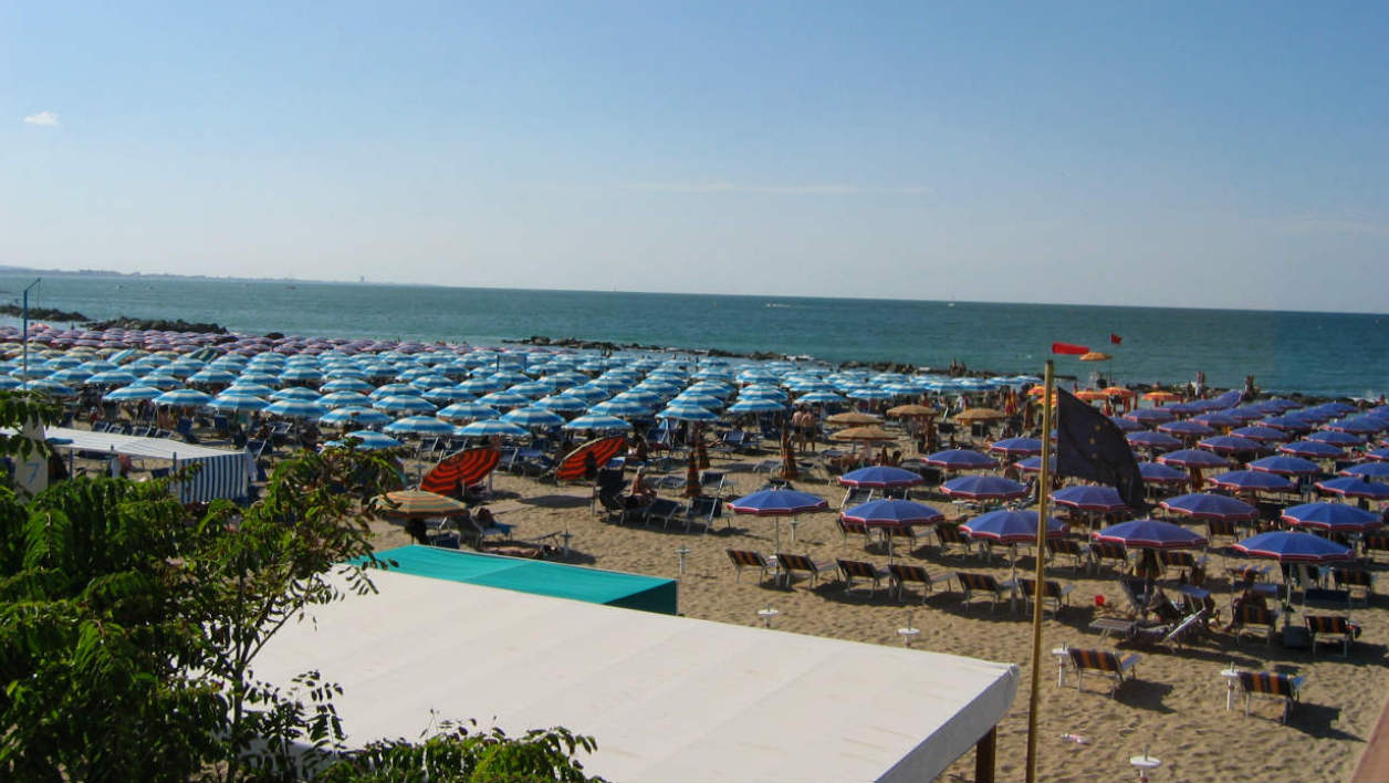 Une plage d'Italie (photo d'illustration).