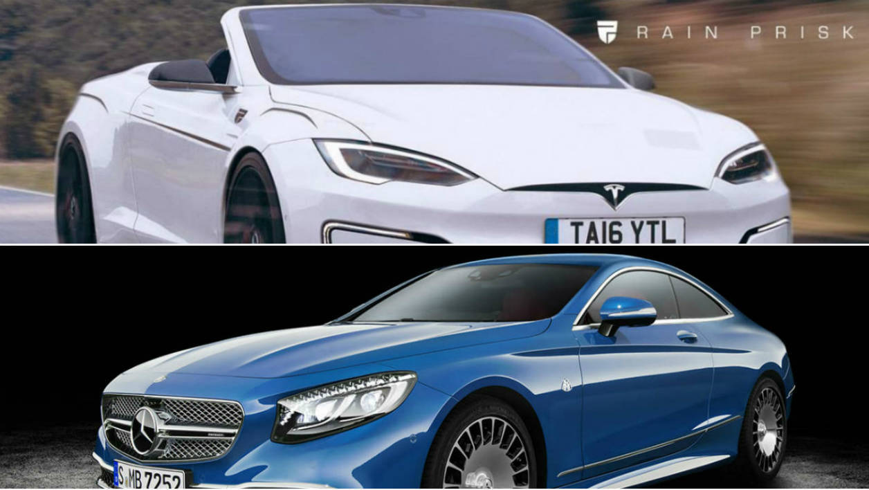 Tesla Model S cabrio ou Maybach S650 coupé