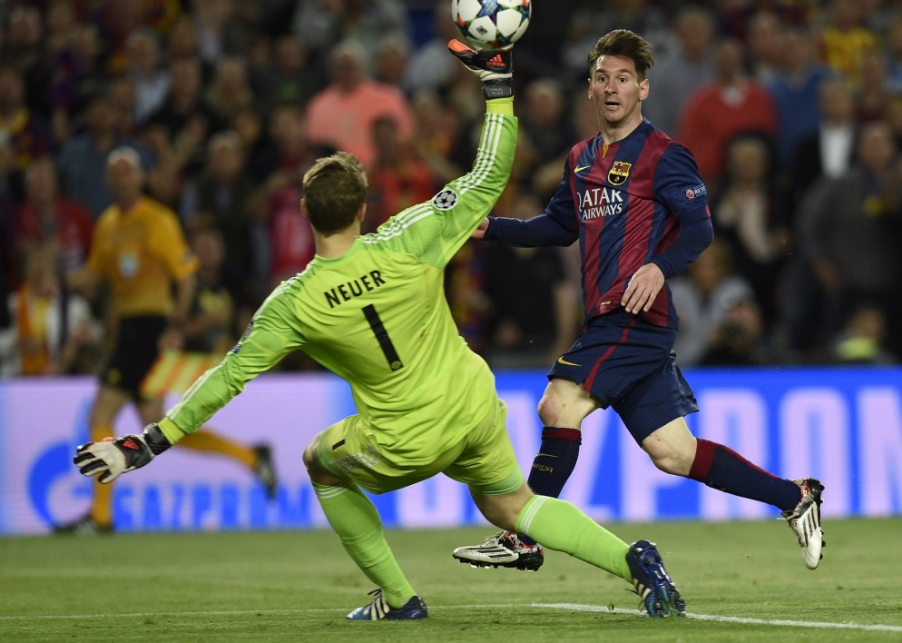 EN VIDEO : le festival de Messi contre le Bayern