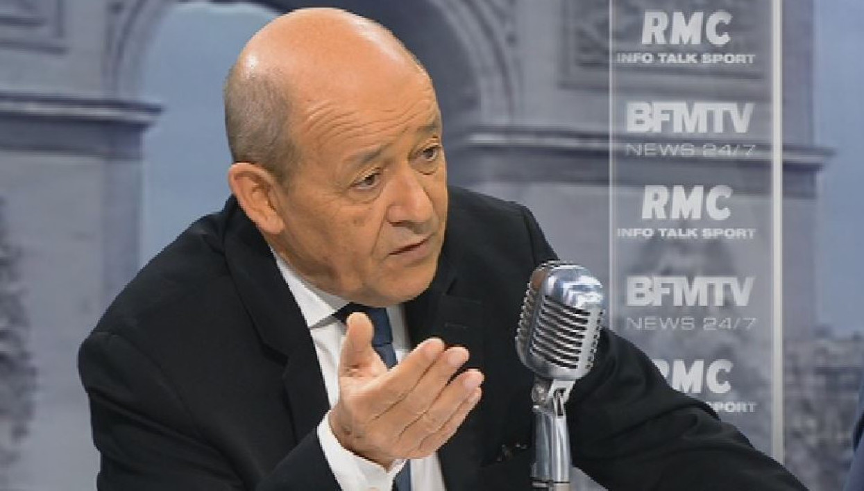 Jean-Yves Le Drian face à Jean-Jacques Bourdin: les tweets de l'interview