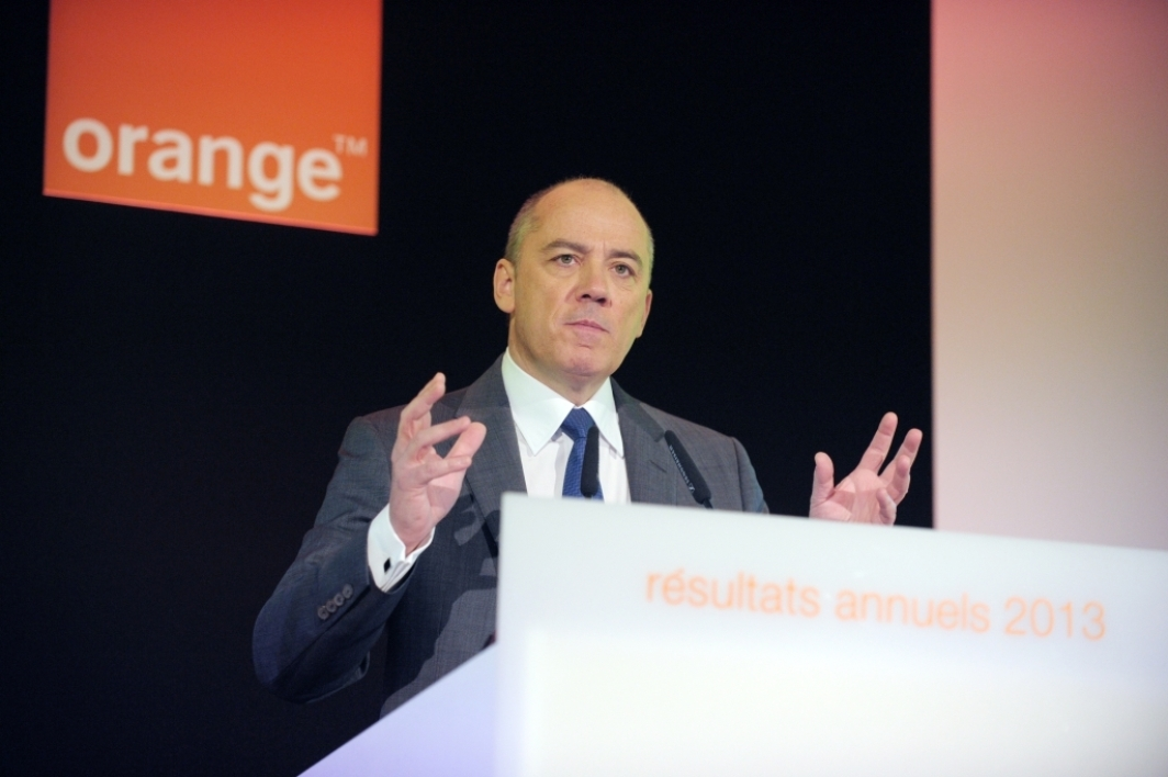 Stéphane Richard, patron de Orange.