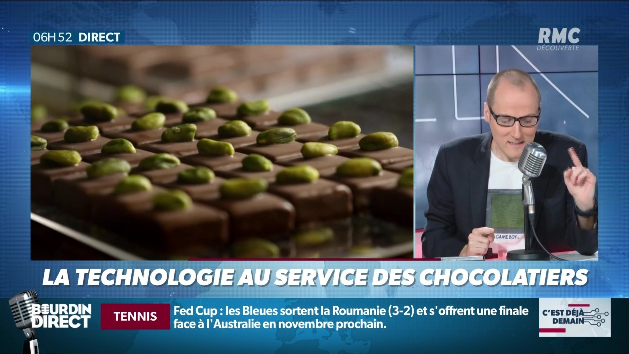"""La chronique d'Anthony Morel"": quand la technologie rencontre le chocolat"