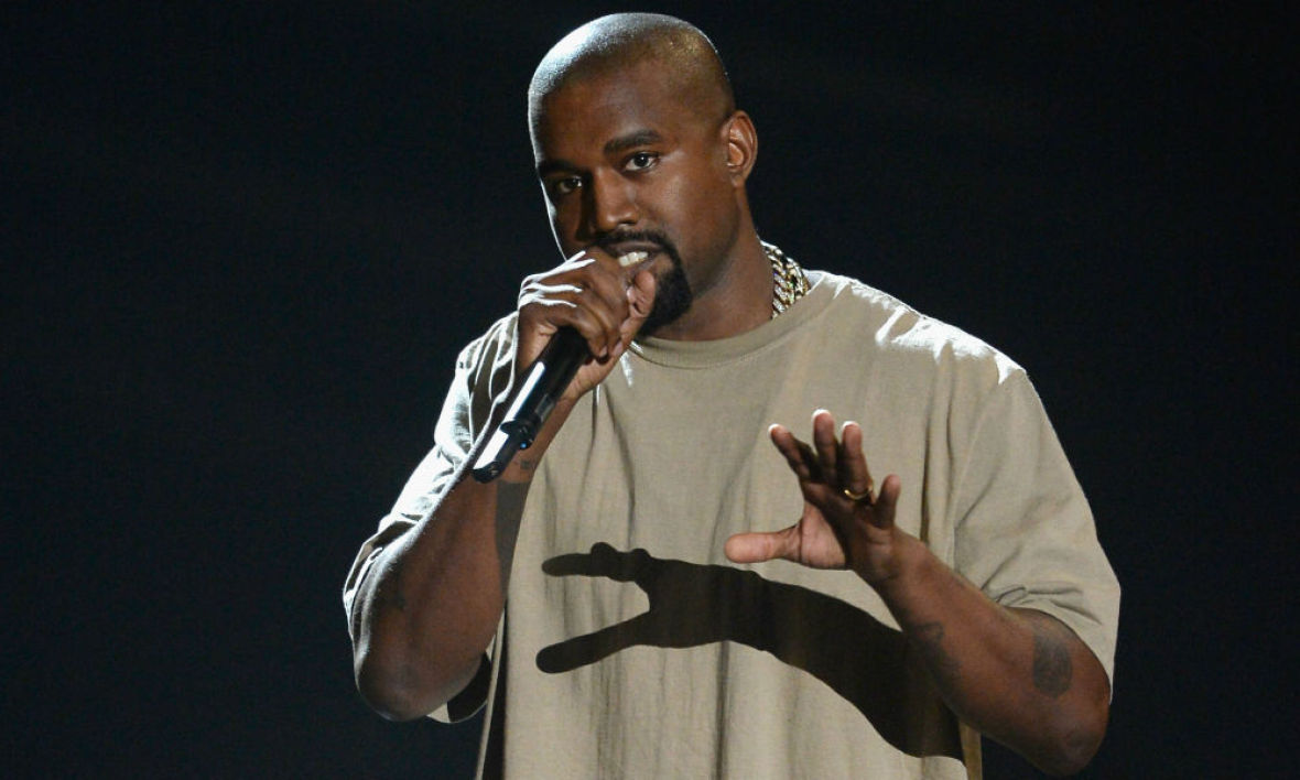 Kanye West aux MTV Vidéo Music Awards en 2015