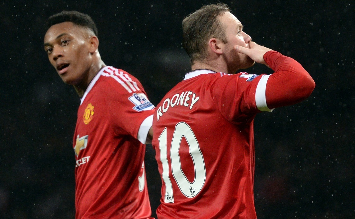 Manchester United : Martial, plus fort que Ronaldo et Rooney ?