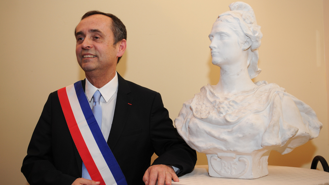 Le maire FN de Béziers, Robert Ménard, lors de son premier conseil municipal (photo d'illustration).