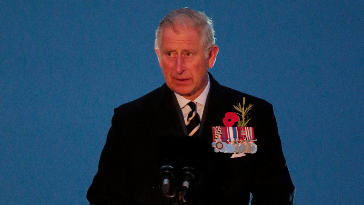 Le prince Charles, le 25 avril 2015