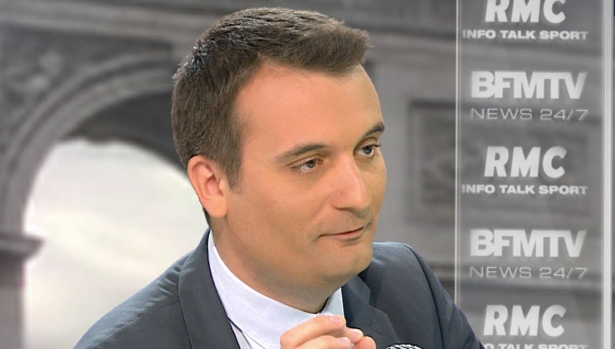 Florian Philippot face à Apolline de Malherbe : le retweet de l'interview