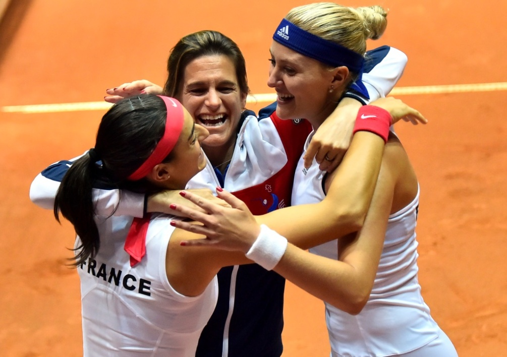 Fed Cup (France - Pays-Bas) : Mladenovic ramène les Bleues