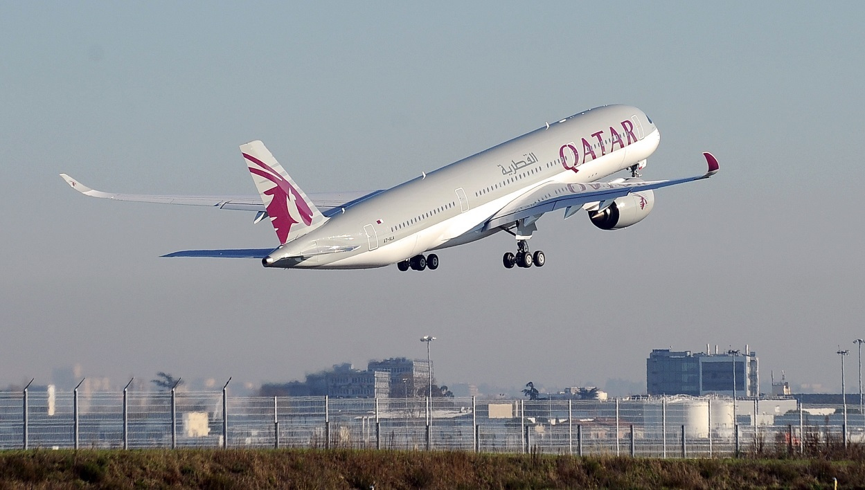 A350 Qatar Airways Airbus Boeing Dreamliner A380