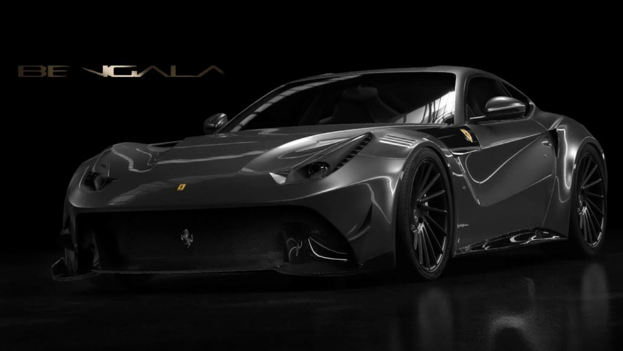 Une Ferrari F12 tout en fibre de carbone Begala Automotive