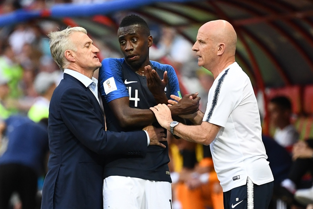 Didier Deschamps, Blaise Matuidi et Guy Stéphan