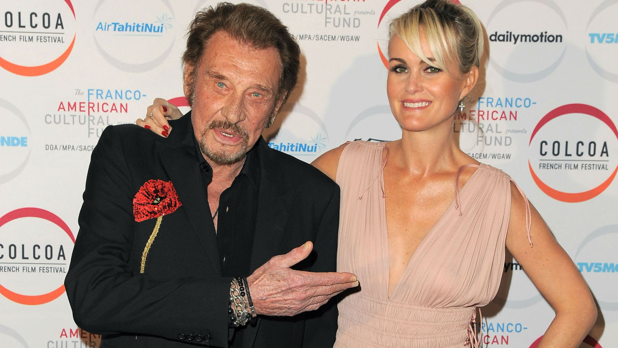 Johnny Hallyday et Laeticia à Los Angeles en 2016