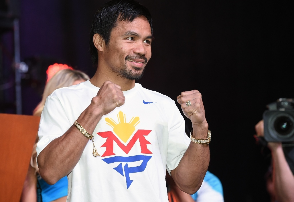 Pacquiao raccrochera en avril 2016