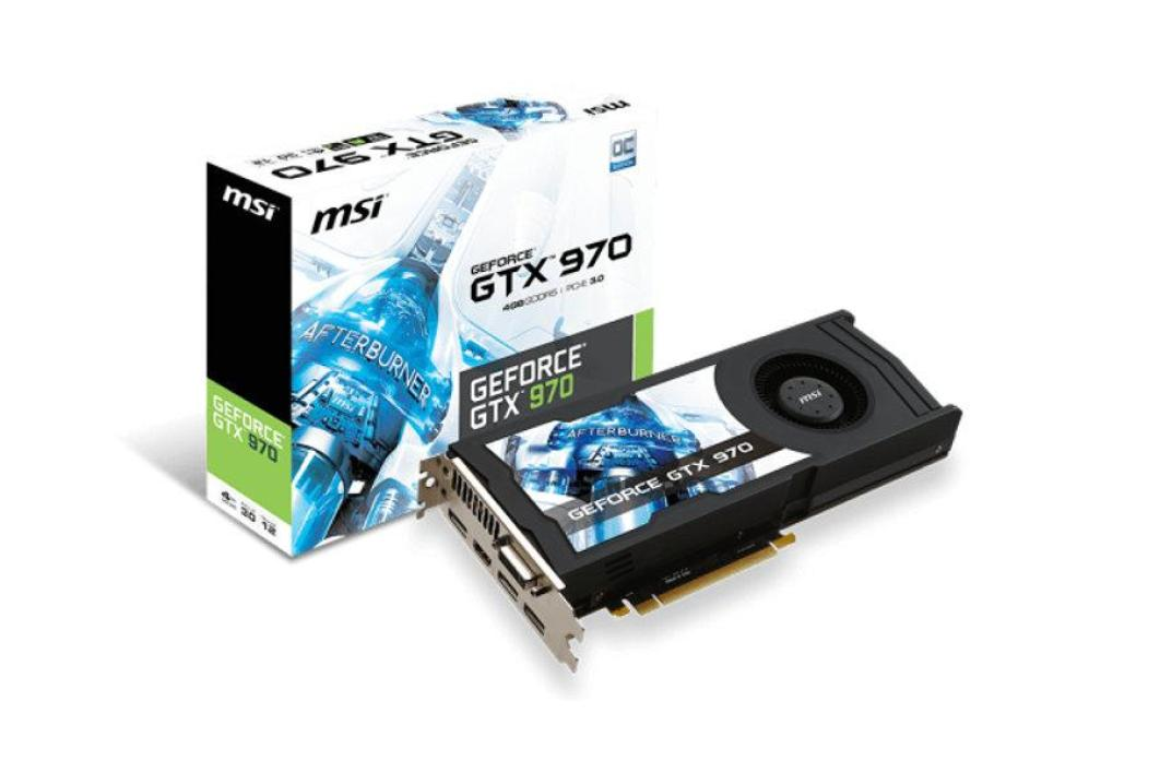 MSI GeForce GTX 970 (GTX 970-4GD5-OC)