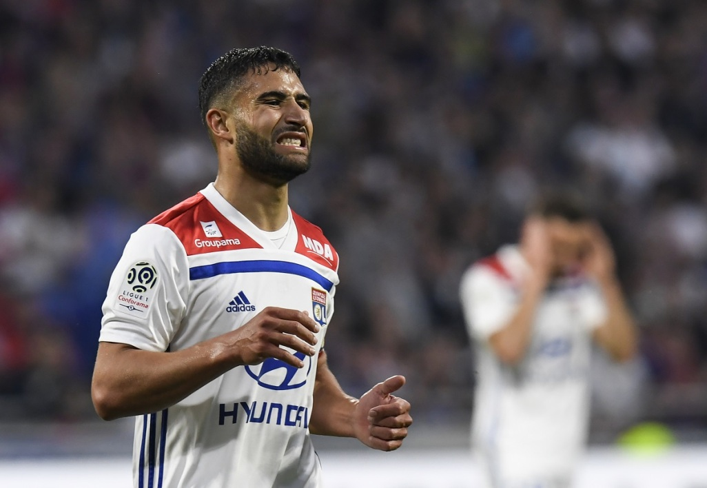 maillot entrainement OL Nabil FEKIR