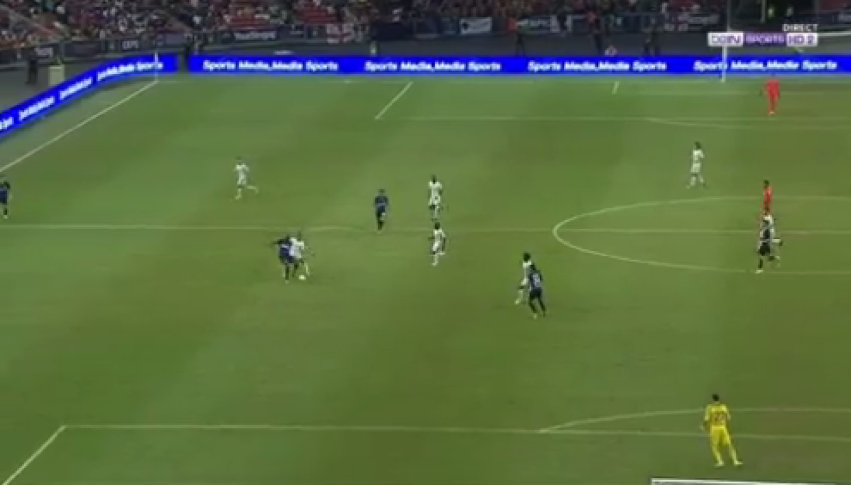 VIDEO. Chelsea-Inter: Kondogbia se plante totalement avec un lob de 40m... contre son camp !