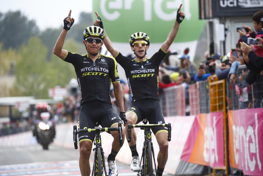 Esteban Chaves et Simon Yates